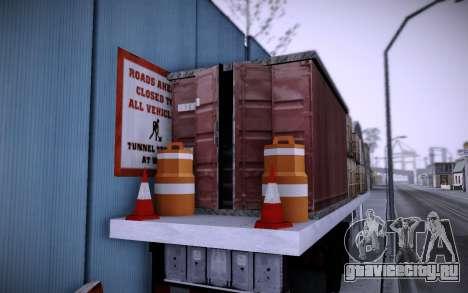 Стройка на Grove Street v0.1 Beta для GTA San Andreas
