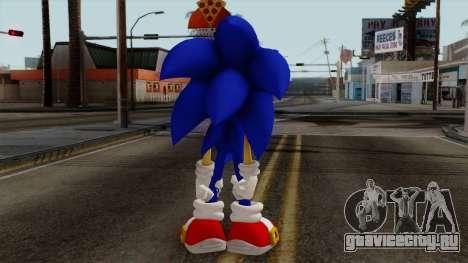 Sonic the Hedgehog HD для GTA San Andreas третий скриншот