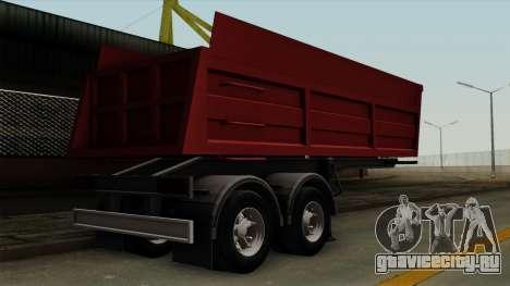 Trailer Dumper для GTA San Andreas вид слева