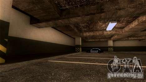 Новая парковка LSPD для GTA San Andreas третий скриншот