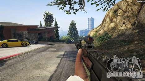 Battlefield 4 AK-12 для GTA 5 пятый скриншот