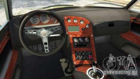 Datsun 240Z для GTA 5 вид сзади справа