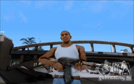 AK-47 Soviet для GTA San Andreas