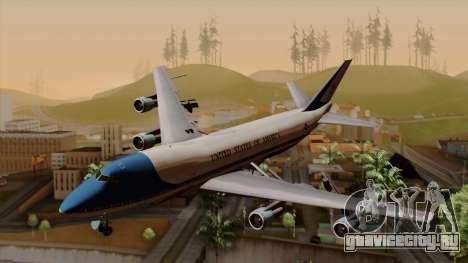 Boeing 747 Air Force One для GTA San Andreas