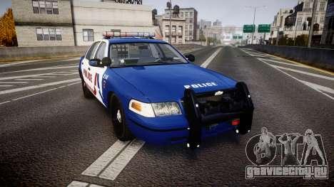 Ford Crown Victoria Alderney Police [ELS] для GTA 4