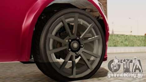 GTA 5 Cheval Fugitive для GTA San Andreas вид сзади слева
