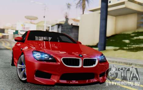 BMW M6 2013 v1.0 для GTA San Andreas