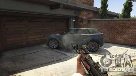 Battlefield 4 AK-12 для GTA 5 восьмой скриншот