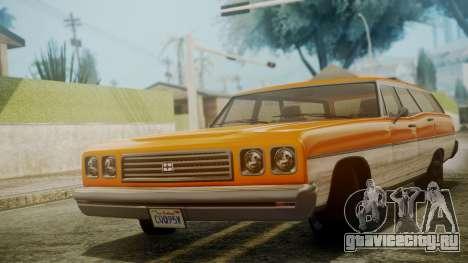 GTA 5 Dundreary Regina для GTA San Andreas вид сзади слева