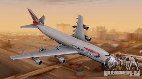 Boeing 747-200 British Airways для GTA San Andreas