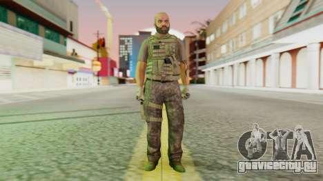 [GTA5] BlackOps2 Army Skin для GTA San Andreas второй скриншот