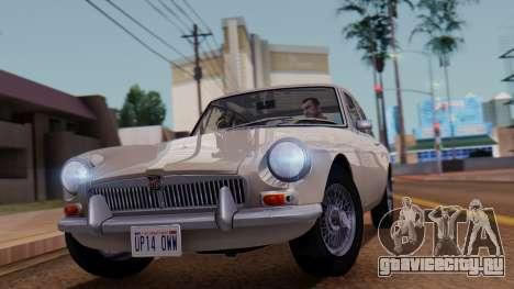MGB GT (ADO23) 1965 IVF АПП для GTA San Andreas вид сзади слева