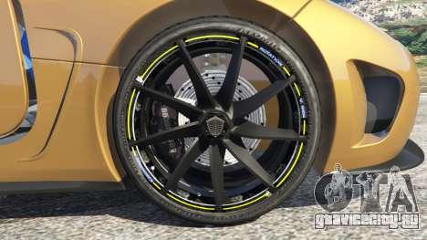 Koenigsegg Agera v0.8 [Early Beta] для GTA 5 вид сзади справа