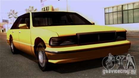 Taxi Kuruma 0.9 для GTA San Andreas