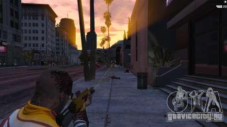 Лазерный прицел для GTA 5 второй скриншот