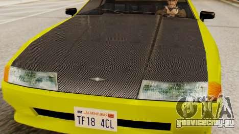 Винил для Elegy - Sport для GTA San Andreas вид справа