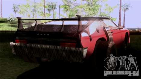 Ford Falcon XA Red Bat Mad Max 2 для GTA San Andreas вид слева