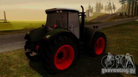 GTA 5 Fieldmaster для GTA San Andreas вид слева