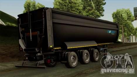Panav Trailer для GTA San Andreas вид слева