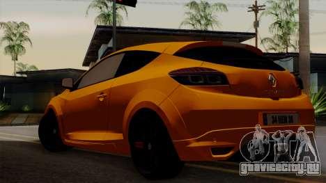 Renault Megane Sport HKNgarage для GTA San Andreas вид слева