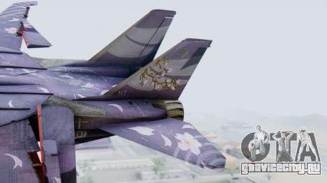 F-14D Zipang для GTA San Andreas вид сзади слева
