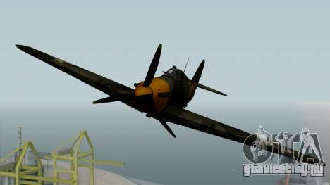 Hawker Hurricane Mk1 - Romania Nr. 1 для GTA San Andreas вид справа