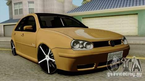 Volkswagen Golf 2004 Edit для GTA San Andreas