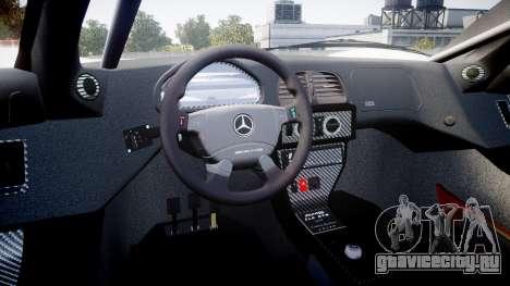 Mercedes-Benz CLK LM 1998 для GTA 4 вид сзади