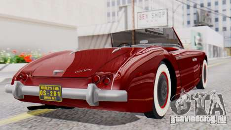 Ascot Bailey S200 from Mafia 2 для GTA San Andreas вид слева