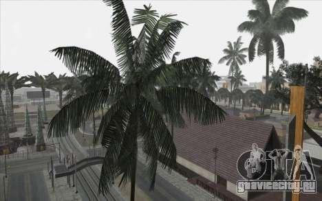 Деревья из WarFace для GTA San Andreas четвёртый скриншот