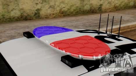 Police SF 2013 для GTA San Andreas вид сзади