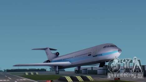 DMA Airtrain from GTA 3 v1.0 для GTA San Andreas вид сзади слева