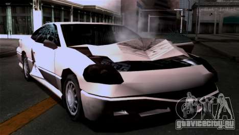 Новые текстуры повреждений для GTA San Andreas