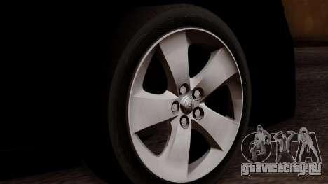 Toyota Prius ДПС для GTA San Andreas вид сзади слева