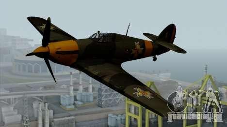 Hawker Hurricane Mk1 - Romania Nr. 1 для GTA San Andreas