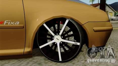 Volkswagen Golf 2004 Edit для GTA San Andreas вид сзади слева
