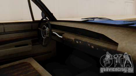 GTA 5 Declasse Voodoo Worn IVF для GTA San Andreas вид справа