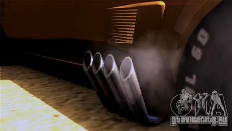 Ford Falcon XB Interceptor Mad Max для GTA San Andreas вид сзади