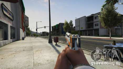 Asiimov Pistol.50 для GTA 5 пятый скриншот
