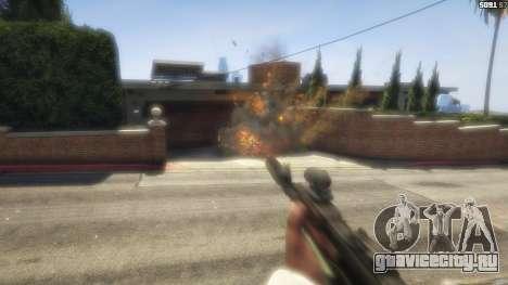 Battlefield 4 AK-12 для GTA 5