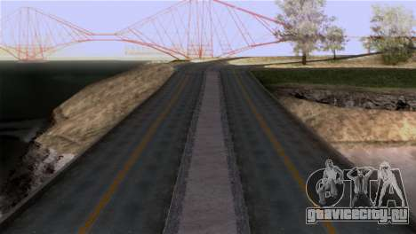 Roads Full Version LS-LV-SF для GTA San Andreas