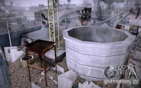 Стройка на Grove Street v0.1 Beta для GTA San Andreas четвёртый скриншот