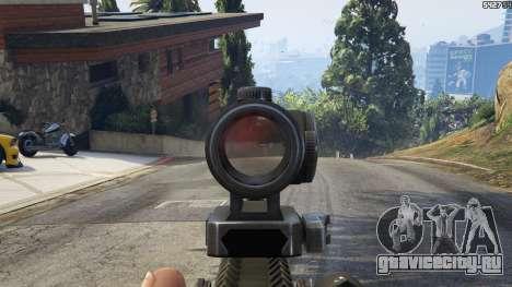 Battlefield 4 AK-12 для GTA 5 седьмой скриншот