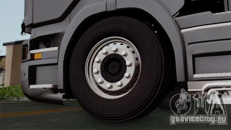 Scania R730 Streamline 4x2 для GTA San Andreas вид сзади слева