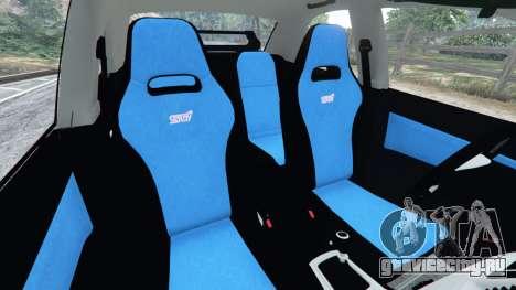Subaru Impreza WRX STI 2005 для GTA 5 вид спереди справа