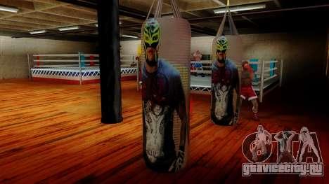 Груша с Реем Мистерио для GTA San Andreas третий скриншот