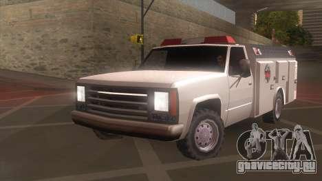 FDSA Fire Van для GTA San Andreas