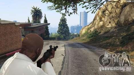Battlefield 4 AK-12 для GTA 5 третий скриншот