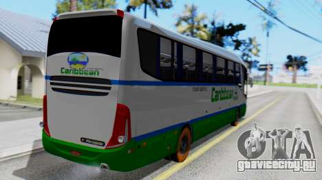 Marcopolo Bus Caribbean Travel для GTA San Andreas вид слева