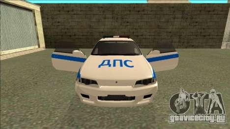Nissan Skyline R32 Russian Police для GTA San Andreas колёса